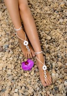 Beach Wedding Barefoot Sandals Crochet