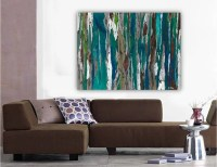 Extra LARGE Wall art ORIGINAL landscape painting very large