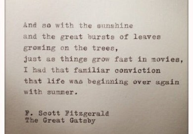 Great Gatsby Quotes And Page Numbers