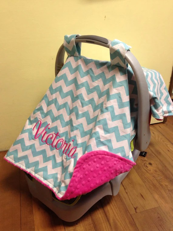 Personalized Car Seat Canopy