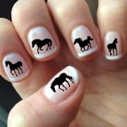 black horse nail art hs1 silhouettes