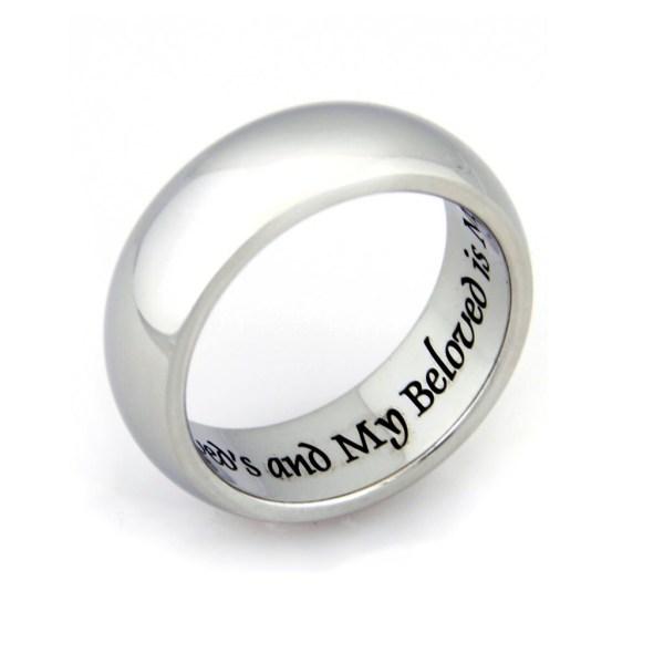 Beloved Couple Rings Wedding