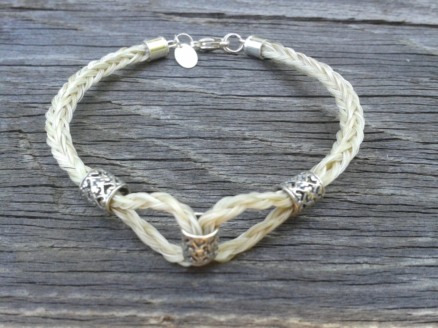 Custom Horsehair Bracelet The Rio Grande By