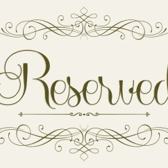 Reserved Signs For Chairs Template Outdoor Rocking Made In Usa Wedding Seating Sign 5 X 7