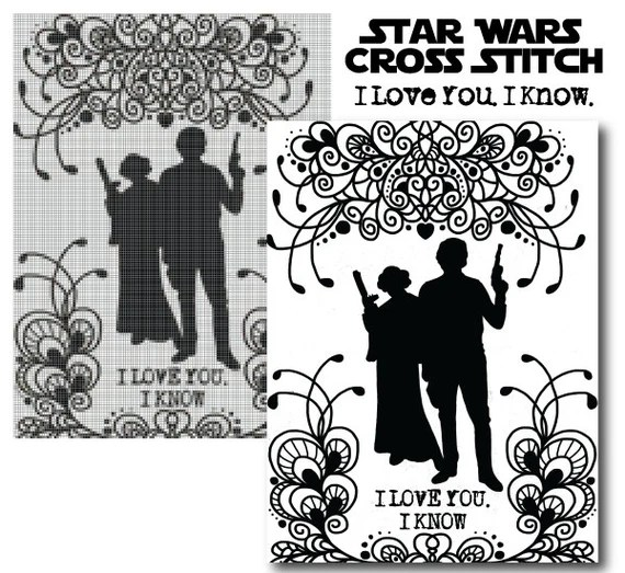 """Download Items similar to Star Wars """"I Love You. I Know."""" Princess ..."""