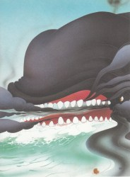whale angry disney