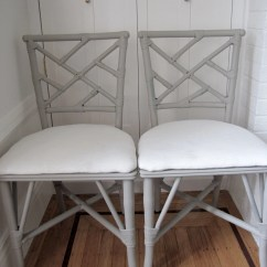 Chinese Chippendale Chairs Outdoor Metal Set Of 4 Vintage Antique