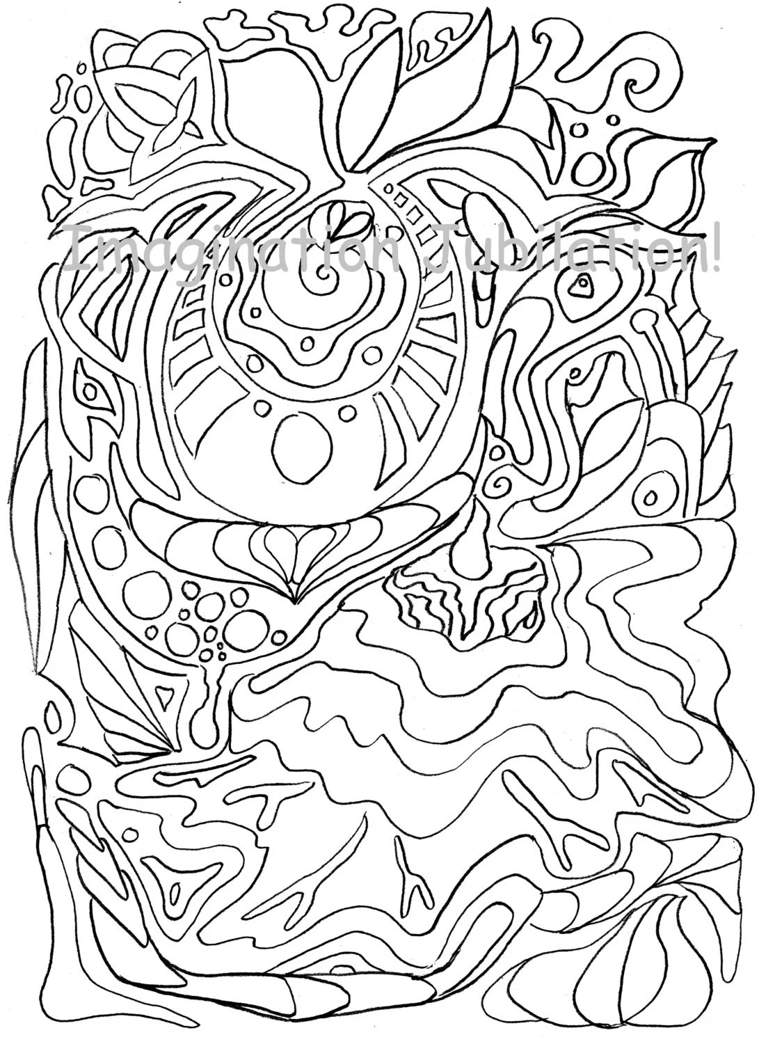 Zendoodle Coloring Pages Of Animals Coloring Pages