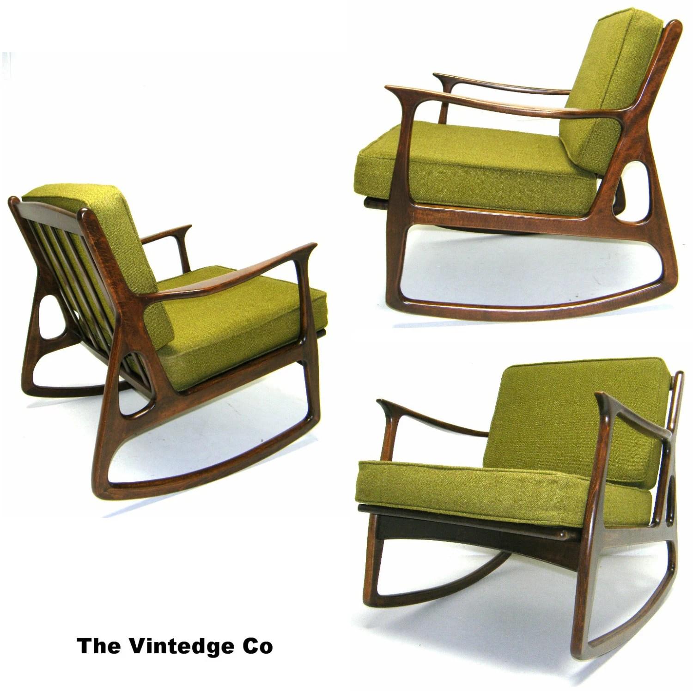retro rocking chair spandex bands the 50s 60s vintage mid century danish modern
