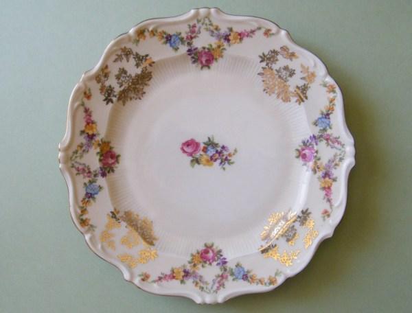 Vintage Schirnding Bavaria Porcelain China Plate Germany