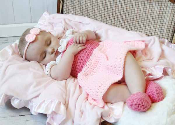 Sleeping Princess Costumebaby Dressshoes Bow