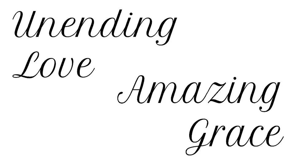 Amazing grace vinyl wall decal Christian Decor by iheartdecals