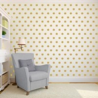 Star Wall Pattern Wall Decal Custom Vinyl Art Stickers for