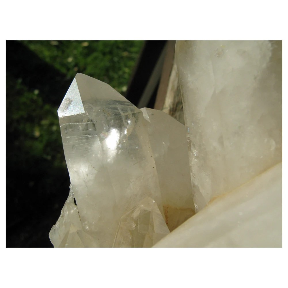 Natural CRYSTAL Quartz Specimen - From The Land Of Dorothy - Table Display - crudeco