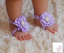 Barefoot Sandals Pattern Baby Sewing Shoe