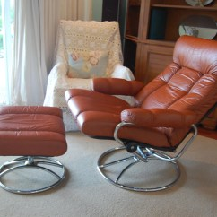 Leather Bergere Chair And Ottoman Patio Chaise Lounge Chairs J.e.ekornes Stressless Recliner Swivel