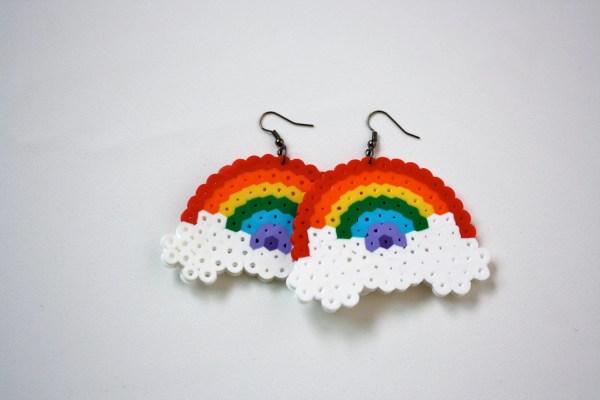 Rainbow Ice Cream Perler Beads - Year of Clean Water