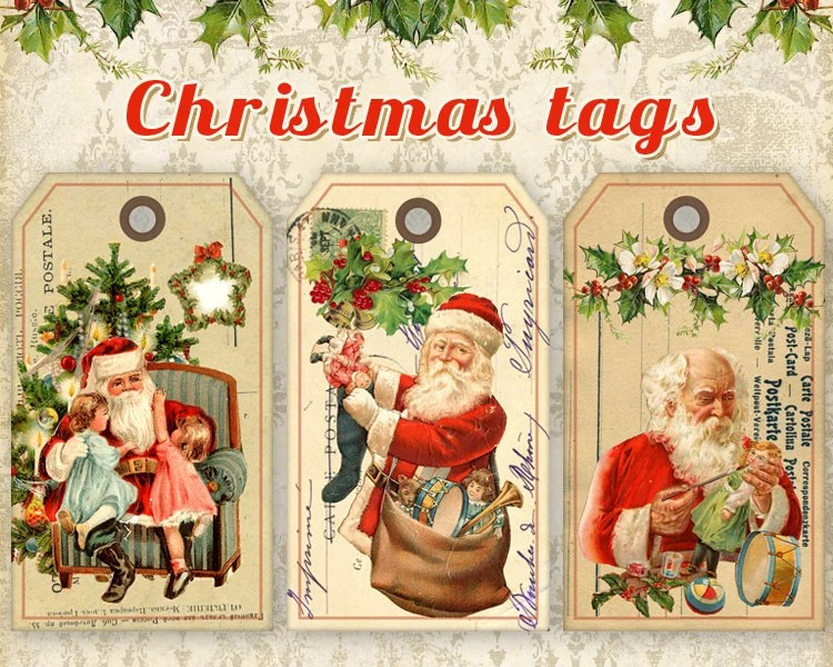 Christmas Gift Tags Printable Christmas Tags On Digital
