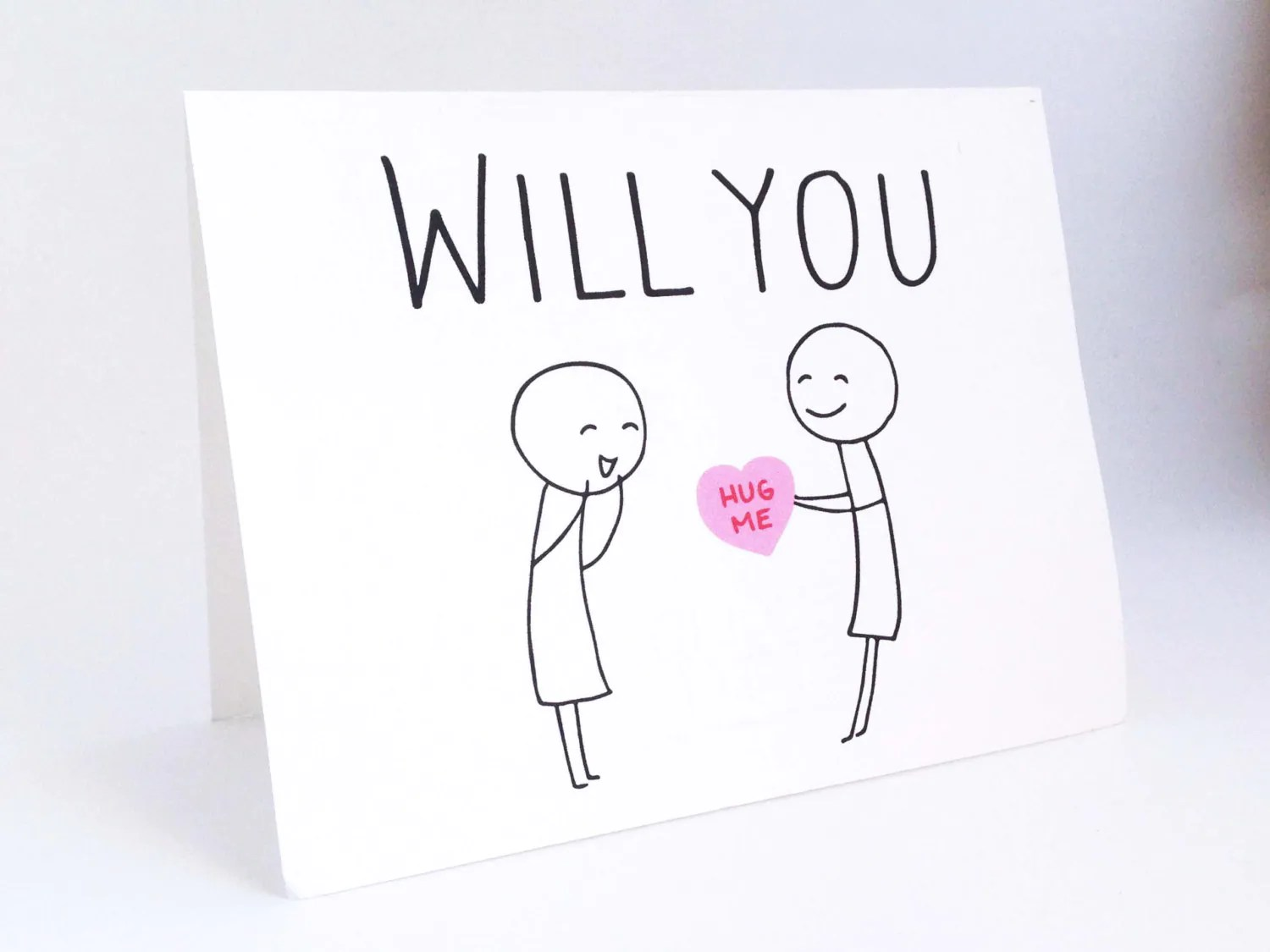 Cute Lesbian Valentines Day Card Funny Card For Her
