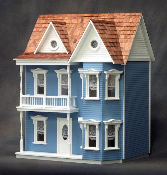 Princess Anne Unfinished Dollhouse Kit