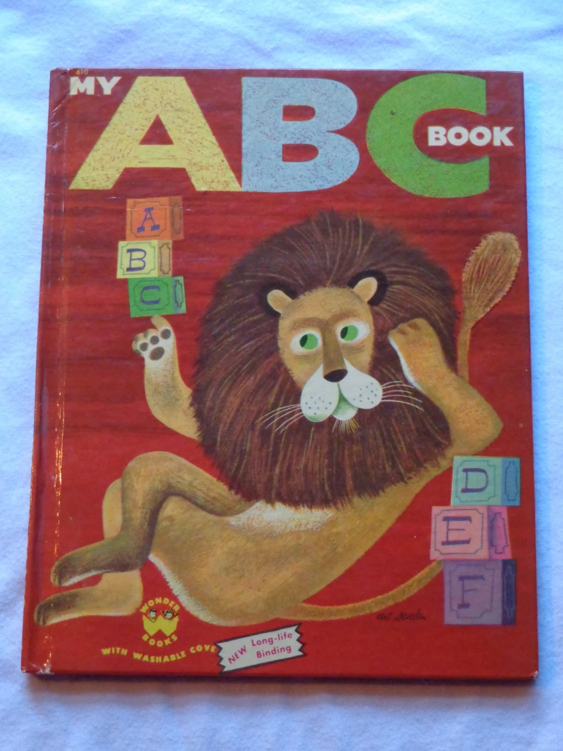 Vintage Wonder Book My Abc Book Illustrated By