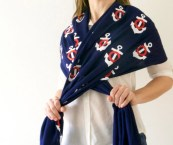 nautical themed pashmina afghan for sale