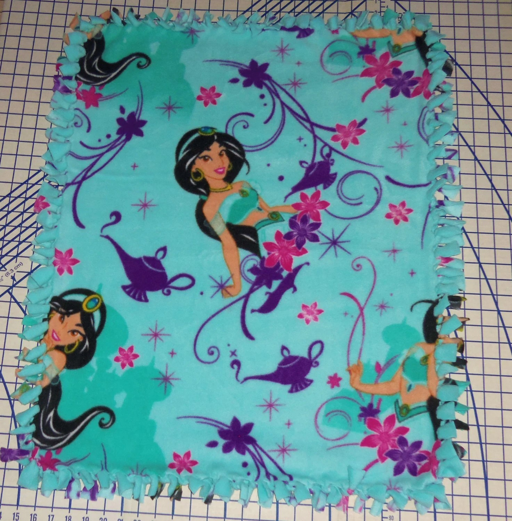 Disney Princess Jasmine Aladdin Double Fleece Baby Pet Lap