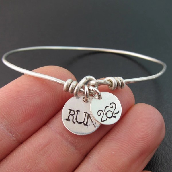 Marathon Bracelet Bangle Jewelry 26.2