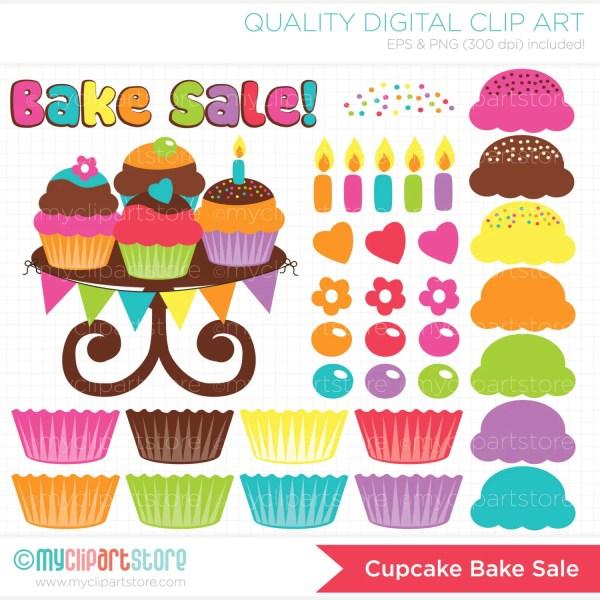 clipart bake birthday
