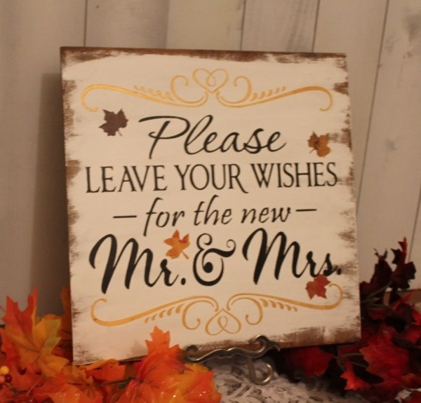 Fall guest book Etsy