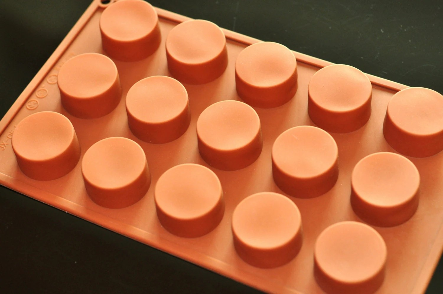 Silicone Circle Cylinder Round Soap Molds Cake Jelly Pudding