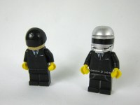 Daft Punk Custom Mini Figures Made From Lego Pieces by ...