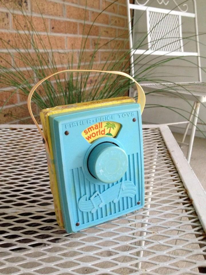 Fisher Price Sing Along Radio