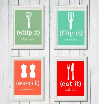 Kitchen art printables collection sale Instant download