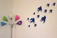 Birds 3D Wall Decor 3D Wall Art Nursery Bird by MyDreamDecors