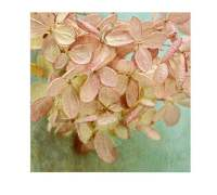Hydrangea Print Rustic Decor Shabby Chic Wall Decor Flower