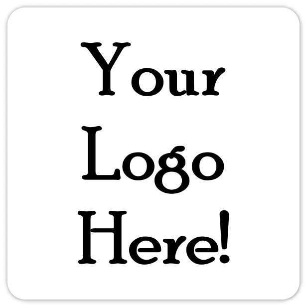 Custom Logo Stickers or Business Labels TWO INCH square