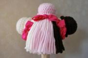scoops waffle cone wig yarn hair