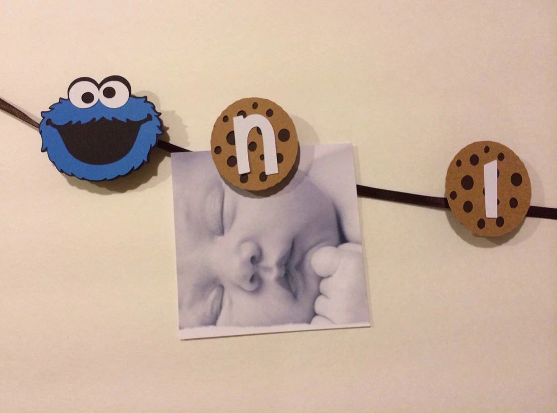 cookie monster chair antique french louis xvi chairs 15 piece watch me grow photo clip banner