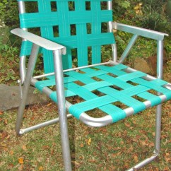 Folding Aluminum Lawn Chairs Electric Chair Repair Chair. Folding. Webbed. Rv. Teal. Vintage