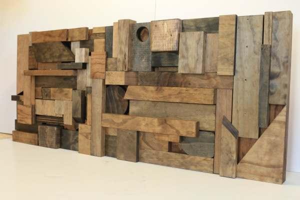 Wood Wall Art Reclaimed Scrap Woodwarmth