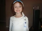 elsa frozen inspired wig headband