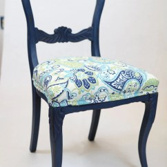 Navy Blue Dining Chairs Set Of 2 Room Chair Covers Dunelm Items Similar To Victorian Chalk Paint - On Etsy