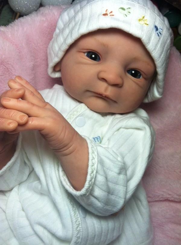 Custom Reborn Baby Doll Bald Spookyhollow