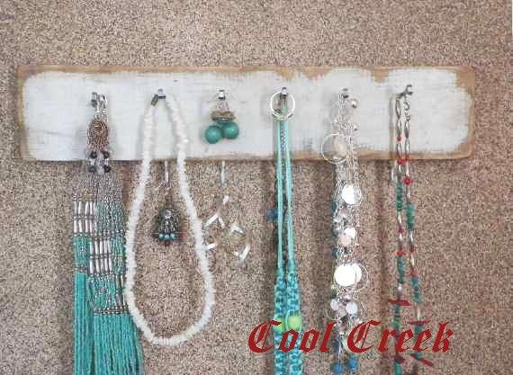 Distressed Jewelry Hanger...