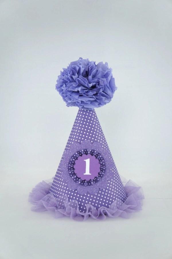 Purple Hat Birthday Party