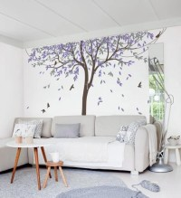 Nursery Willow Tree Wall Decal Wall Sticker Tree Wall Decal