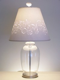 Fill Your Own Seashell Lamp-Fillable Lamp-Fillable Table