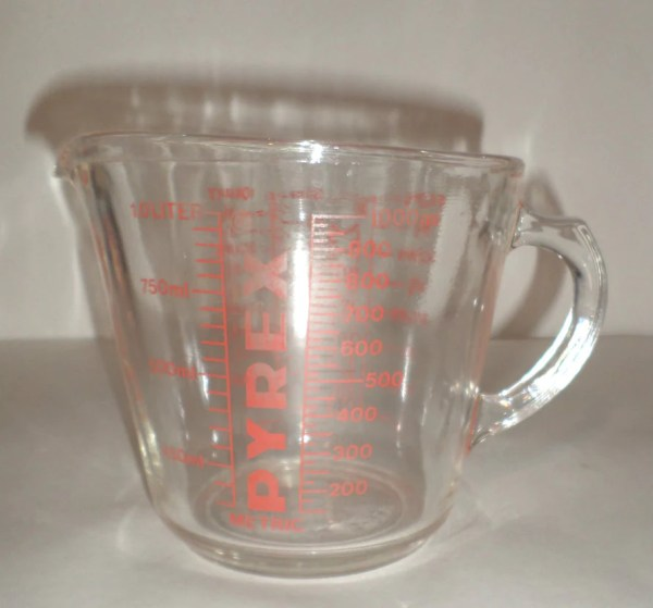Vintage Pyrex 4 Cup Measuring Glass