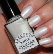 white oleander iridescent